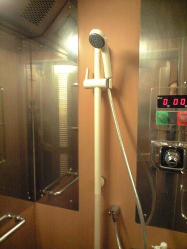サンライズ瀬戸 車内 シャワー施設