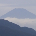 芦ノ湖から見える富士山
