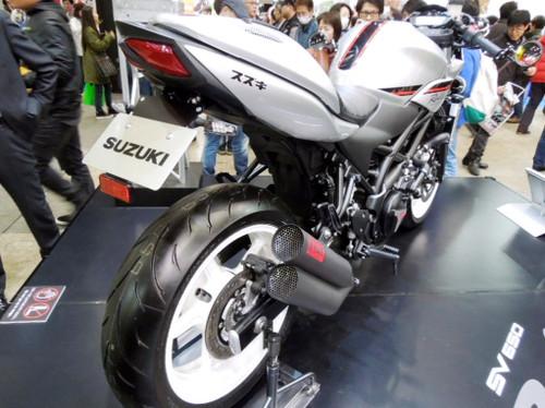 SV650 ラリーコンセプト